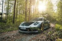 New TECHART performance options for 911 Coupe and Cabriolet offer sound, styling and power upgrades