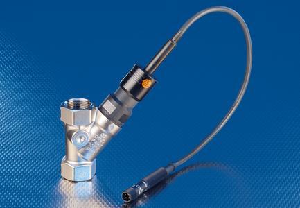 Optischer 2-Leiter-Sensor im Metallgehäuse mit M18 Gewinde