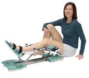 Mit der Bewegungsschiene Kinetec Prima AdvanceTM können Schupp-Kunden in die kontinuierliche passive Bewegungstherapie (CPM) einsteigen