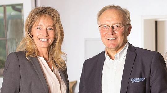 Mona Häußermann und Stefan Lopaska, Geschäftsleitung der LT-NET Europe