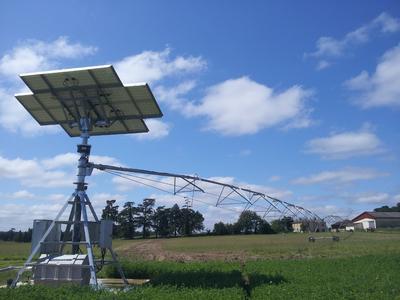 Solar Pivot Phaesun Irrifrance