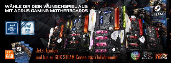 GIGABYTE Steam Promo Intel