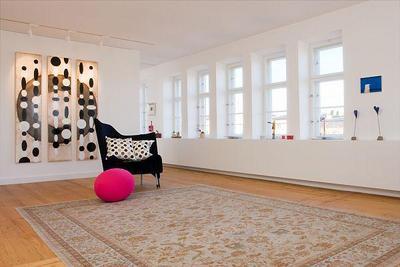 Münchner City-Wohnung. 5. und 6. Stock wurden zu einer Wohnfläche von 280qm zusammengelegt