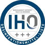 IHO-Desinfektionsmittel Siegel