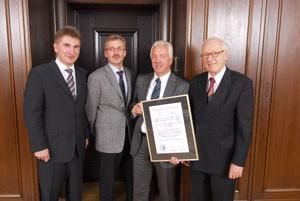 Steinert Elektromagnetbau GmbH honoured for innovation