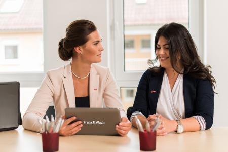 Gut die Hälfte der Führungspositionen in der Zeitarbeitsbranche sind weiblich besetzt.(Foto: Franz & Wach Personalservice GmbH)