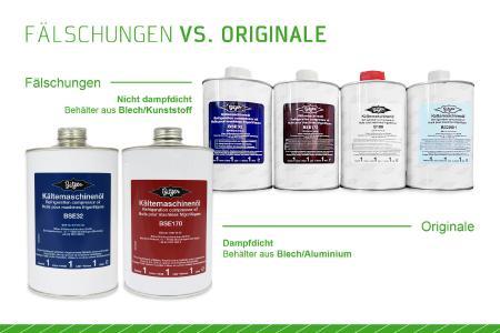 Bild 1: Anwender sollten stets Originalöle verwenden. Diese sind speziell auf die BITZER Verdichter abgestimmt und erfüllen höchste Standards