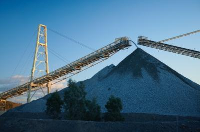Auf der Cadia-Minen; Foto: Newcrest Mining