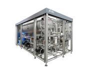 Der auf die Bedürfnisse kleiner und mittelständischer Brauereien zugeschnittene Kurzzeiterhitzer Innopro BoxFlash von KHS ist ab sofort mit den meisten Behältersegmenten kompatibel