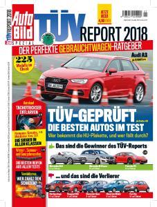 Titelseite AutoBild TÜV-Report 2018