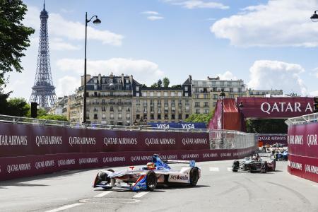 MS Amlin Andretti, Robin Frijns, FIA Formula E Championship, Paris ePrix ©2017 Steven Tee/LAT/FIA Formula E