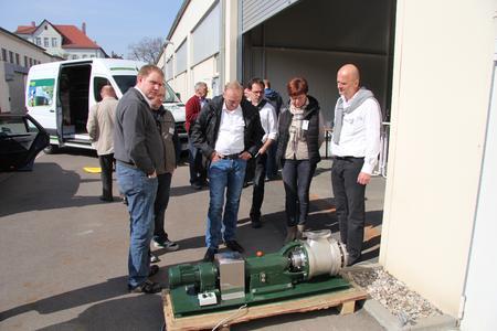 PlanET Technikvorführung in Leipzig