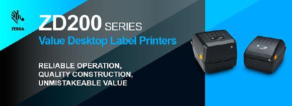 Zebra ZD200 - Desktop Etikettendrucker