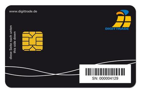 Smartcard zur HS256S