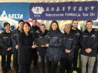 Delta Donates Laptop Computers to Serbian Refugee Camps