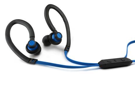 Die ergonomisch geformten Bügel des Flex passen sich optimal an die Ohren an und lassen sich nach dem Sport einfach mit Wasser abwaschen