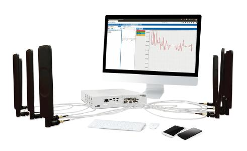 Nutaq development platform PicoLTE 4x4 - showcased during embedded world 2018