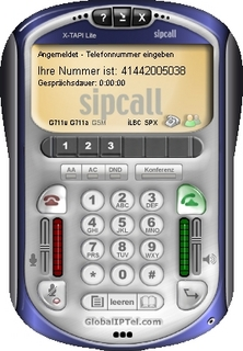 sipcall lanciert neues Software-Telefon X-TAPI Lite