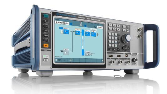 Der R&S SMM100A i der einzige Signalgenerator seiner Klasse mit Millimeterwellen-Testfunktionen / Bild: Rohde & Schwarz