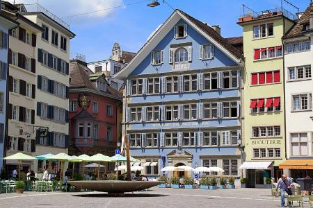 Zürich - die wirtschaftliche Metropole der Schweiz
