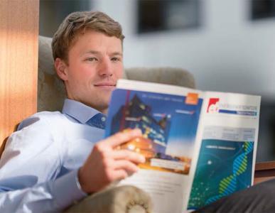 Die Expertise von Finanzmathematikern wie Andreas Wagner ist in der Energiewirtschaft gefragt / ©Fraunhofer ITWM/Wolfram Scheible