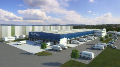 Garbe Industrial Real Estate entwickelt Logistik-Depot für Hermes in Witten