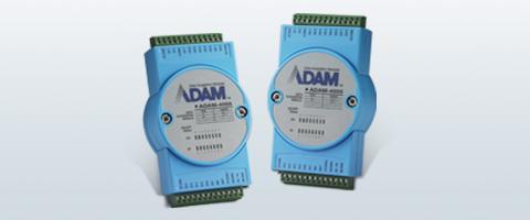 Bewährte Remote I/O Module der ADAM-6000 Serie nun mit SNMP und MQTT Protokoll