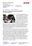 [PDF] Pressemitteilung: Beim Winter-Reifenwechsel unbedingt Stoßdämpfer und Federn überprüfen