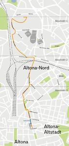 Fernwaerme Altona Leitungsverlauf