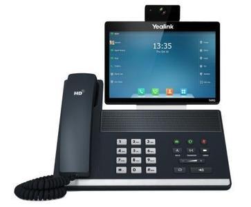 Modernste Funktionen und branchenführende Video- und Tonqualität: das SIP CP-T49G HD Touchscreen-Videotelefon von Yealink