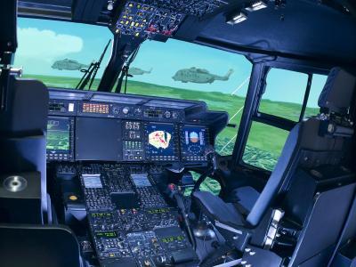 Rheinmetall modernizing NH90 flight simulators