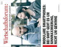 [PDF] Wirtschaftsforum Cover Page