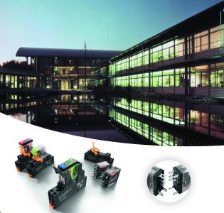 Weidmüller D-Series: Die kompakten DRI-Relais stellen eine passgenaue Lö-sung für die innovative Gebäudeinstallation dar