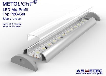 Metolight LED-Alu-Profil - Set
