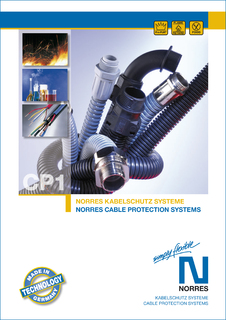 "New ""NORRES Cable Protection Systems"" catalogue"