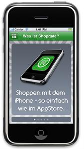 Shopgate iPhone App