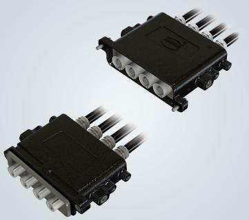 High-current connector Han® 22 HPR slim - solution for limited space