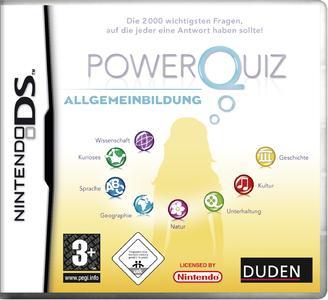 """Duden und Hamburger Medien Haus präsentieren das """"Power Quiz – Allgemeinbildung"""" für den """"Nintendo DS"""". Präsentation und Gewinnspiel zur Einführung des Wissenstrainers auf der Frankfurter Buchmesse 2008"""