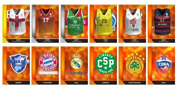 Euroleague-Teamliste für NBA 2K16 veröffentlicht