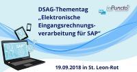 DSAG-Thementag Elektronische Eingangsrechnungsverarbeitung für SAP