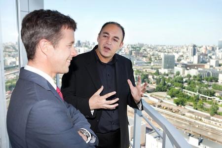 Hoch über Kiev erläutert CEO Majgaard die Bedeutung von Ciklum