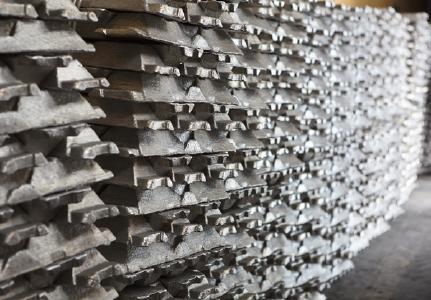 Aluminiumbarren; Quelle: Depositphotos