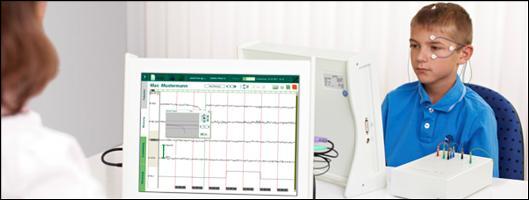 Die innovativen Neurofeedback-Systeme von neuroConn werden u. a. bei ADHS-Therapien eingesetzt