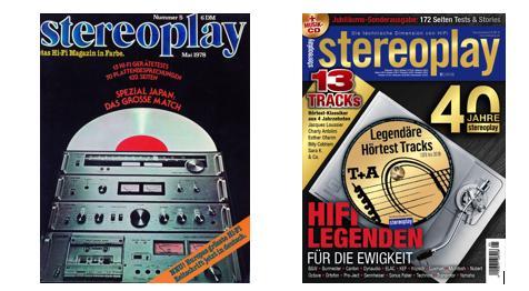 Eine Reise durch die HiFi-Geschichte: stereoplay Vor 40 Jahren und heute