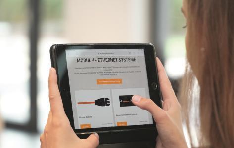 Frei zugängliche E-Learnings zur industriellen Datenkommunikation von LAPP
