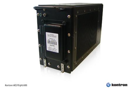 Kontron ACE Flight 600 general purpose airborne server