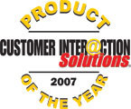 ASC erhält den Product-of-the-Year-Award 2007 des Customer Interaction Solutions Magazine
