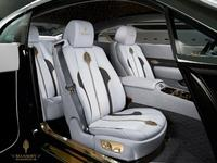 MANSORY presents an automobile treasure - the Rolls-Royce Wraith in the limited, gold-decorated Palm Edition 999