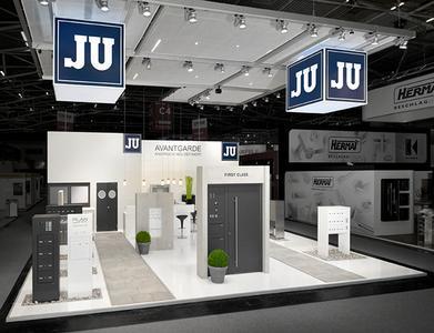 Präsentation von JU auf der Bau 2015 in München