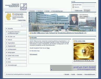 Der VKD in Berlin ist seit kurzem mit einer neuen TYPO3-basierten Homepage online
